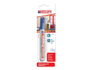 Viltstift edding 3000 rond blauw 1.5-3mm blister