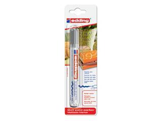 Viltstift edding 4000 decomarker rond zilver 2-4mm