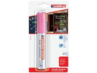 Viltstift edding 4090 window schuin neonroze 4-15mm blister