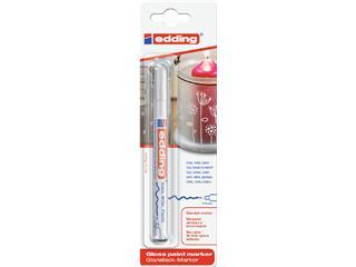 Viltstift edding 751 lakmarker rond wit 1-2mm blister