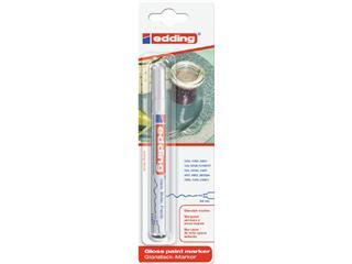 Viltstift edding 780 lakmarker rond wit 0.8mm blister