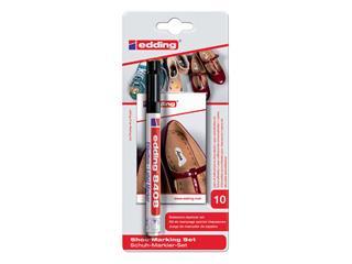 Viltstift edding 8408 schoenmarker rond zwart 0.75mm