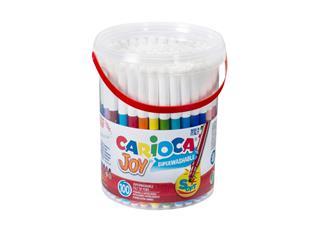 Viltstiften Carioca Joy pot à 100 stuks