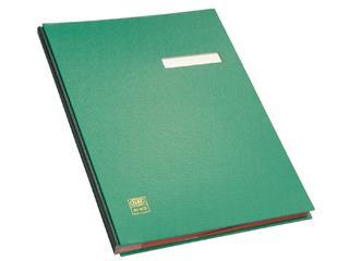 Vloeiboek Elba 20 vakken groen