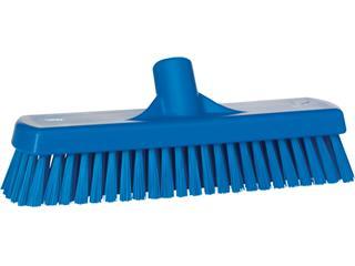 Vloerschrobber Vikan harde vezel 305mm blauw