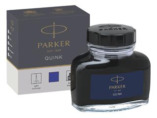 VULPENINKT PARKER QUINK 57ML PERMANENT BLAUW
