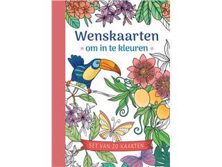Wenskaarten om in te kleuren Deltas