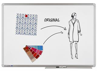 Whiteboard Legamaster Universal plus 45x60cm emaille