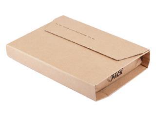 Wikkelverpakking CleverPack ringb +zelfkl strip bruin 25stuk