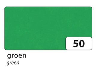 Zijdevloeipapier Folia 50x70cm 20g nr50 groen set à 5vel