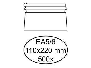 ENVELOP QUANTORE BANK EA5/6 110X220 ZK 80GR WIT