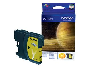 Inkcartridge Brother LC-1100Y geel
