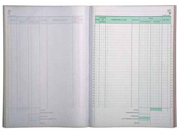 Kasboek Manifold dupli 50vel