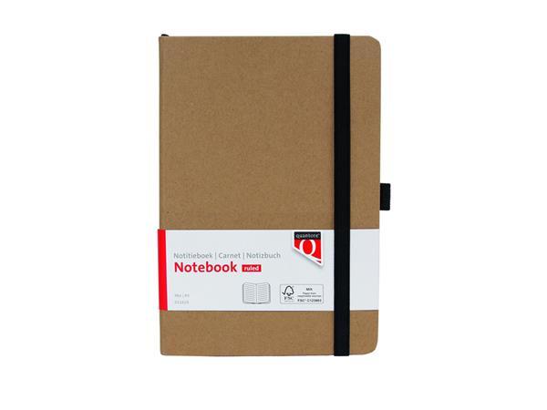 Notitieboek Quantore A5 lijn kraft