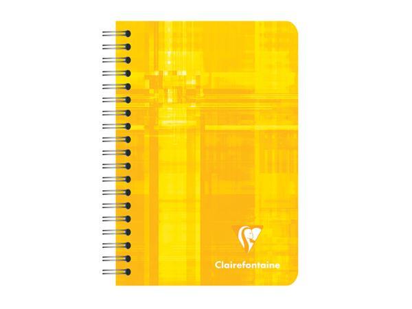 NOTITIEBOEK CLAIRFONTAINE DSP 95X140 LIJN 90V