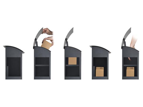 Dropbox Malmo voor postpaketten