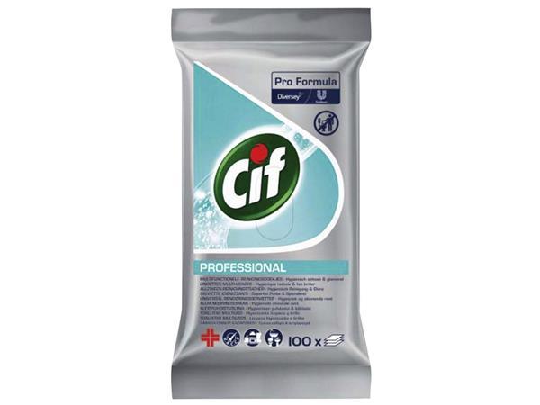 Reinigingsdoekjes CIF Multi hygiene 100 stuks