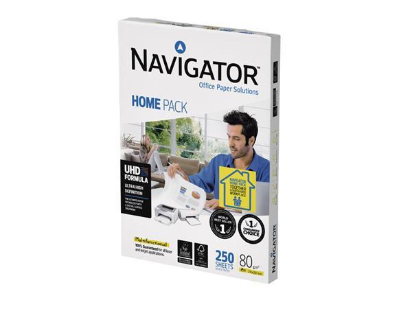 Kopieerpapier Navigator Homepack A4 80gr wit 250vel