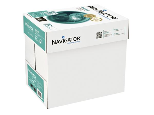 Kopieerpapier Navigator Advanced A4 75gr wit 500vel