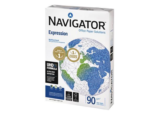 Kopieerpapier Navigator Expression A4 90gr wit 500vel