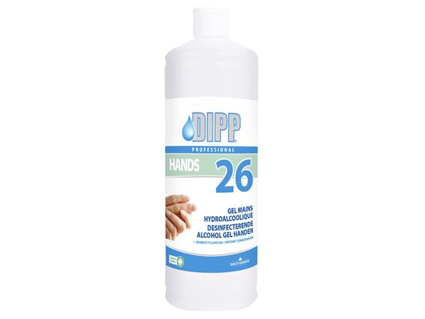 Handgel DIPP desinfecterende alcohol gel 1l