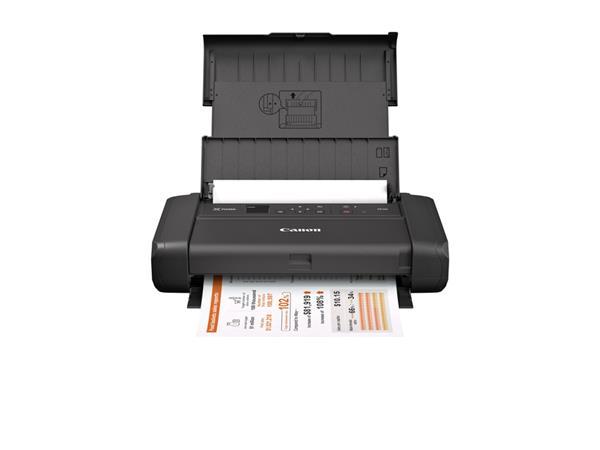 Inktjetprinter Canon TR150 inclusief LK-72 batterij.