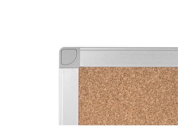 Prikbord Quantore 60x45cm kurk