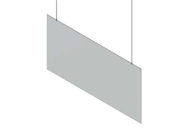 Hygiënescherm Budget 100x50cm hangend transparant