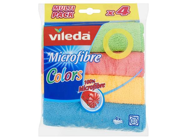 Microvezeldoeken Vileda 4-pack