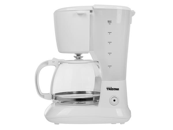 Koffiezetter Tristar CM-1252 1,25L 750W wit