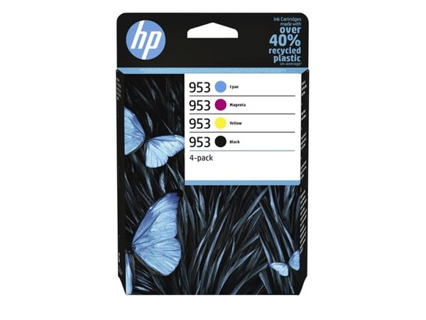 INKCARTRIDGE HP 953 6ZC69AE ZWART 3 KLEUREN