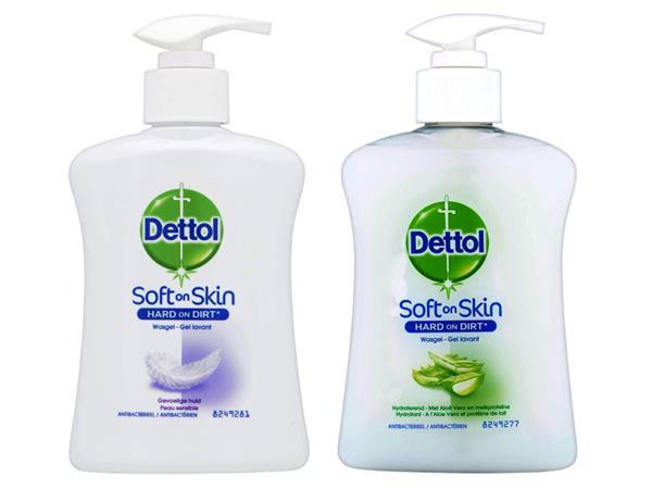 Hygiënische zeep Dettol Sensitive 250ml