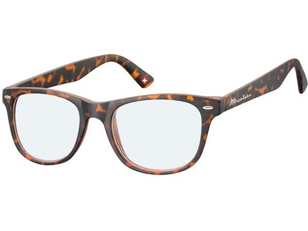 Leesbril Montana blue light filter +3.50 dpt turtle