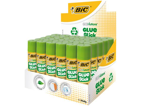 Lijmstift Bic Ecolutions 8gr 20+10 gratis