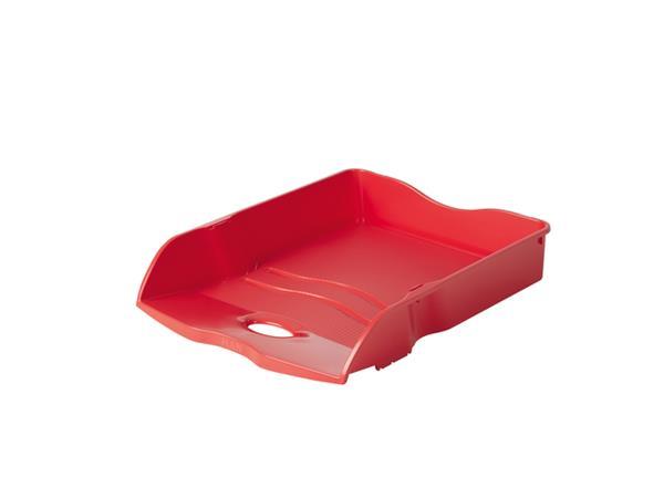 Brievenbak Han Re-LOOP A4 stapel- & nestbaar rood