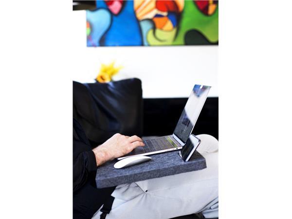 Laptoponderzetter Jalema Skote zwart