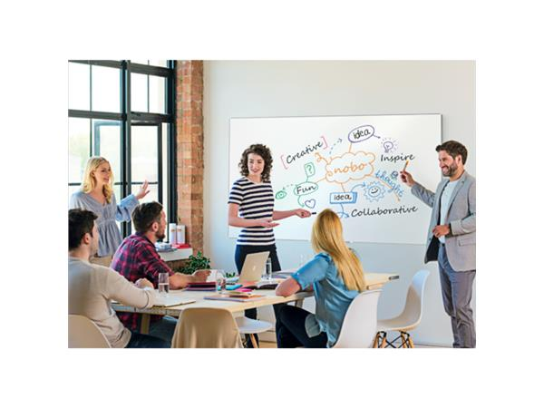 Whiteboard Nobo Impression Pro Widescreen 69x122cm emaille