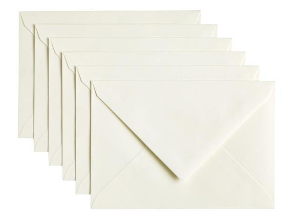 Envelop Papicolor C6 114x162mm anjerwit