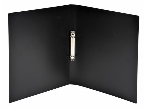Ringband Exacompta A4 2-rings O-mech 15mm PP zwart