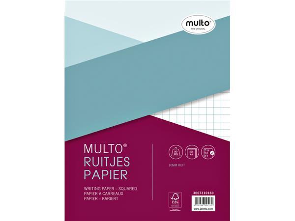 Interieur Multo A4 23-rings ruit 10mm 50vel