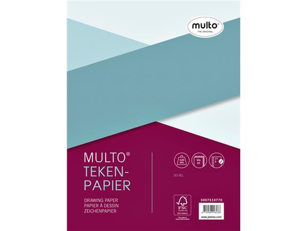 INTERIEUR MULTO 17R TEKENPAPIER 120GR 50V