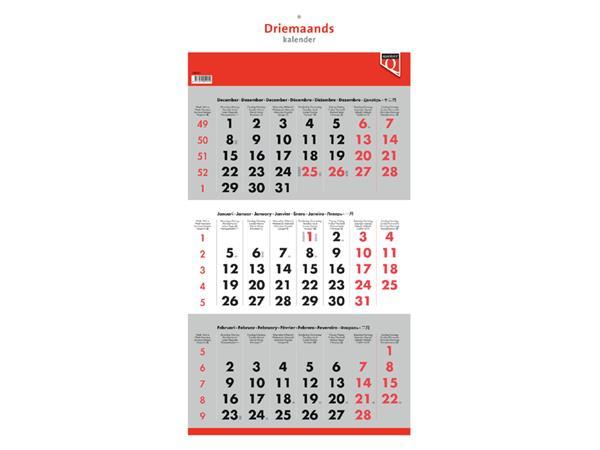 3-Maandskalender 2021 Quantore