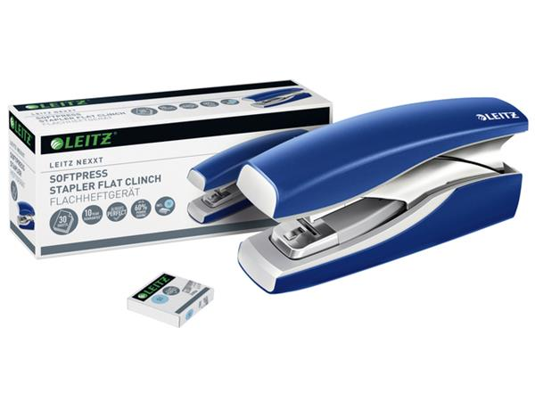 Nietmachine Leitz NeXXt 5603 Softpress 30vel blauw
