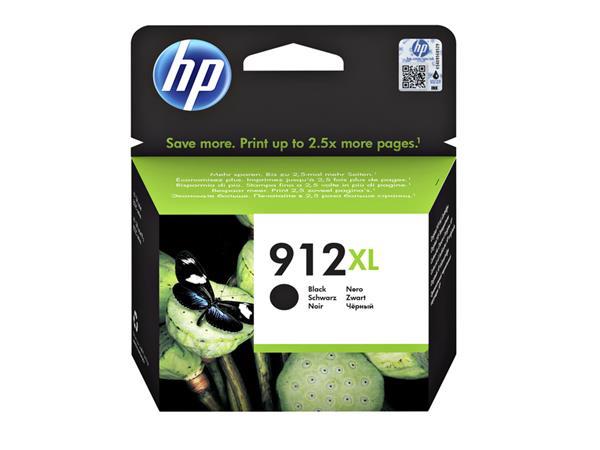 INKCARTRIDGE HP 912XL 3YL84AE ZWART
