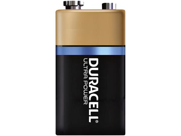 BATTERIJ DURACELL 9V ULTRA POWER MX1604 ALKALINE