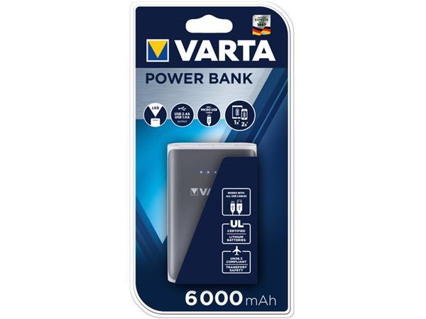 Powerbank Varta 6000mAh