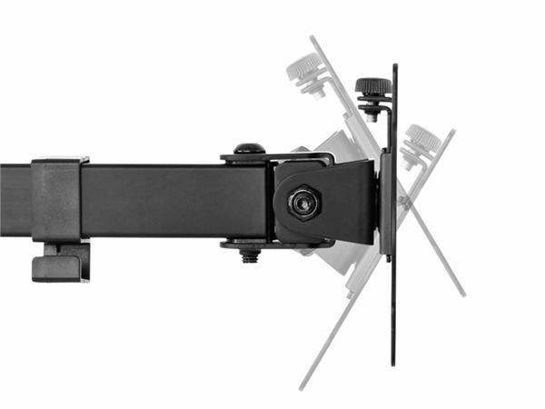 """Monitorarm Newstar D550D 10-32"""" zwart"""