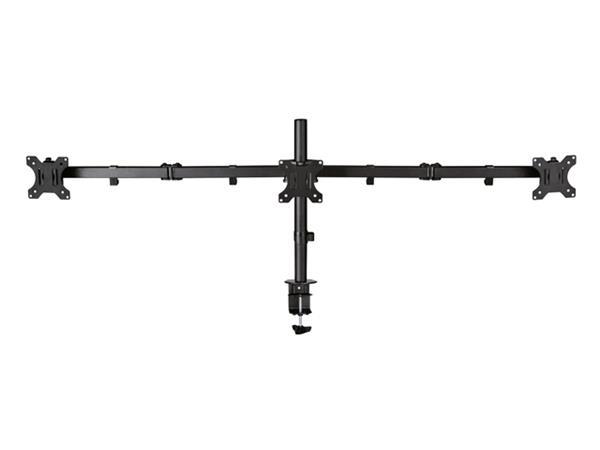 """Monitorarm Newstar D550D3 10-27"""" zwart"""
