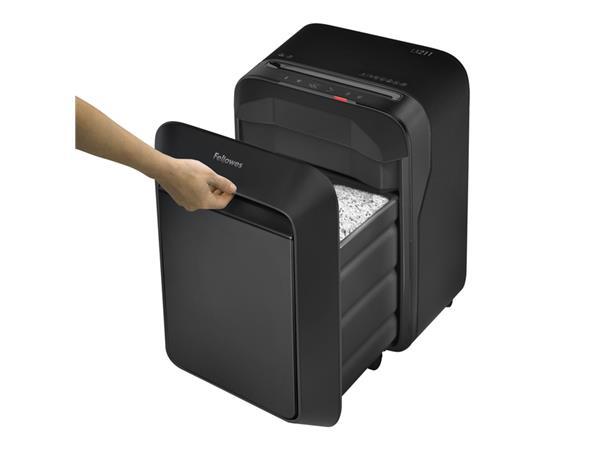 Papiervernietiger Fellowes Powershred LX211 snippers 2x12mm zwart