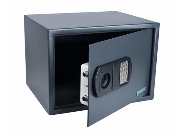 Kluis Pavo 450x360x315mm elektronisch donkergrijs